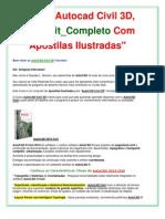 Apostila Autocad Civil 3D 2010 | Curso Autocad civil Completo _ Frete Grátis!!!