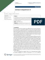 Generalized Fibonacci sequences in groupoids