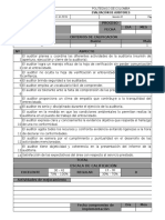 Modelo- Evaluación de Auditores
