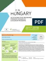 Kurzuslista Beasiswa Hungaria
