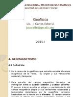 Clase N03- Geomagnetismo
