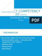 Conduct Competency