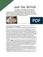TEA and the British
