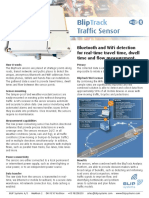 BlipTrack Traffic Sensor ( BT & WiFi )