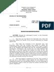 220025771 Motion for Reinvestigation CRIMPRO 2014
