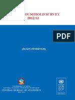 AHS 2012-13 (Final Report)
