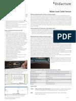 Didactum Water Leak Cable Sensor