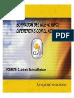 CAMBIOS RIPCI (CDAF)