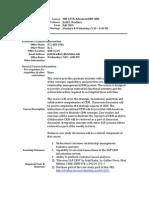 UT Dallas Syllabus for mis6378.501.10f taught by Judd Bradbury (jdb101000)