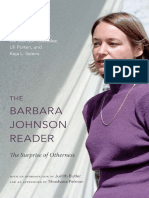 Barbara Johnson - A reader