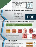 Sindrome de Distres Respiratorio Agudo Grupo 8