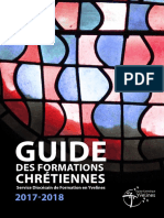 Guide des formations 2017