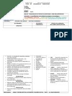 Plan Curricular PRIMERO Junio 2015