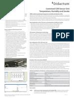 Didactum Smoke, Humidity and Temperature Sensor
