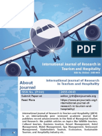 International Journal of Research in Tourism and Hospitality - ARC Journals