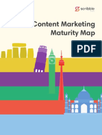 Content Marketing Maturity Map EGuide