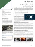 Didactum Sensoreinheit Rack Monitoring