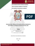 TESIS PROCESO DE SELECCIÓN