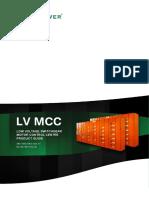 LV Mortor Control Centre Brochure en NOJA