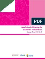 Guia de Orientacion Modulo Diseno de Sistemas Mecanicos Saber Pro 2016 2