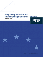 2015-Esma-1464 Annex i - Draft Rts and Its on Mifid II and Mifir