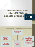 BL 5.2 International and Culturally Diverse Aspects of Leadership