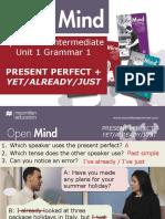Open Mind Intermediate Unit 01 Grammar 1
