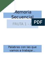 Fruta 1 - Modelo A.ppt