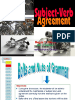 July 29 - Rogertrapseflores Subject - Verb Agreement Final PPT