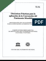 0. Directrices Prácticas para la aplicación de la Convención del Patrimonio Mundial..pdf