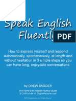Guide To Speak English Fluently
