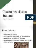 Teatro Neoclásico Italiano