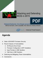 AttackingAndDefendingBIOS-RECon2015