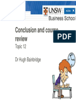 Topic 12 - Course Review (1 Per Page)