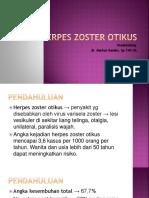Herpes Zoster Otikus