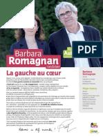 Barbara Romagnan - Législatives 2017 - Profession de foi (1er tour)