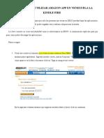Manual Para Utilizar Amazon App en Venezuela La Kindle Fire
