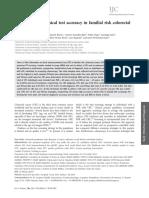 Fecal Immunochemical Test Accuracy in Familial Risk Colorectal Cancer Screening