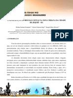 A Degradação Do Rio Das Contas Na Zona Urbana Da Cidade