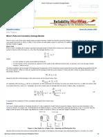 Fatigue Cumulative Damage Models