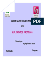 Tema 2.Alimentos Proteicos.2012
