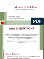 2Importance of Nutrition_MPU3332