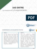S1-L2 Diferencia Entre Texto Expositivo y Argumentativo