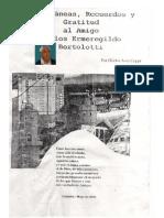 MISCELANEAS, RECUERDOS Y GRATITUD AL AMIGO CARLOS E. BERTOLOTTI