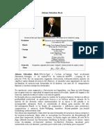 BACH, Johann Sebastian - Datos Bio. y Obra Musical
