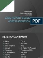 Crs Aortic Aneurysm Med