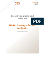 Biotechnology Sector in Spain