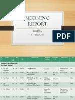 Morning Report Poli Lili