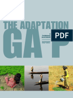 The Adaptation Gap a Prelimary Assessment UNEP 2014