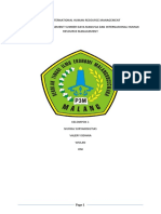Tugas International Human Resource Management